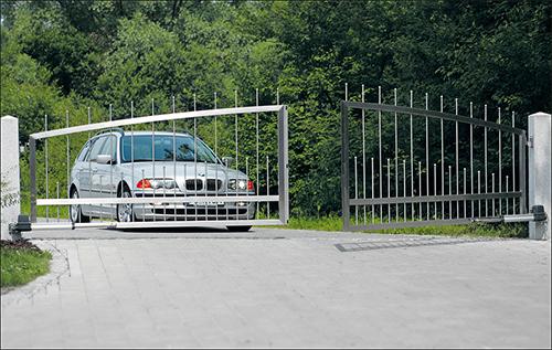 Monitoring bramy wjazdowej w NAPAD.pl