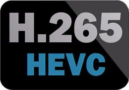 Logo kompresji H.265.