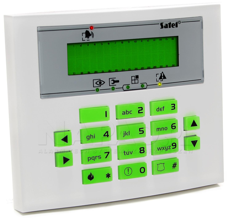 INT-KLCDS-GR Manipulator LCD Satel