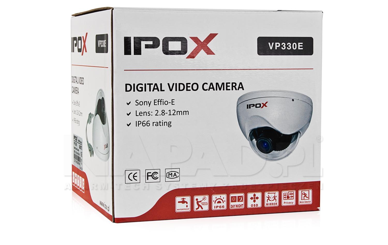 Kamera przemysłowa IPOX VP330E Effio (2.8-12)