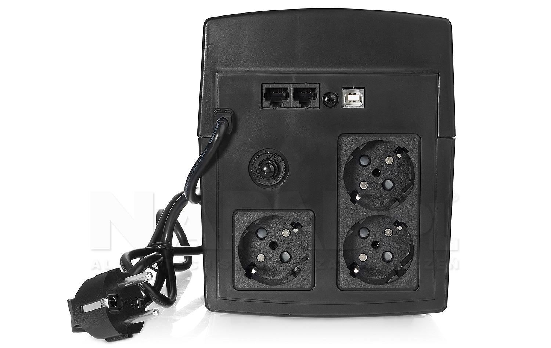 Zasilacz awaryjny UPS AT-UPS1200-LCD wolnostojący