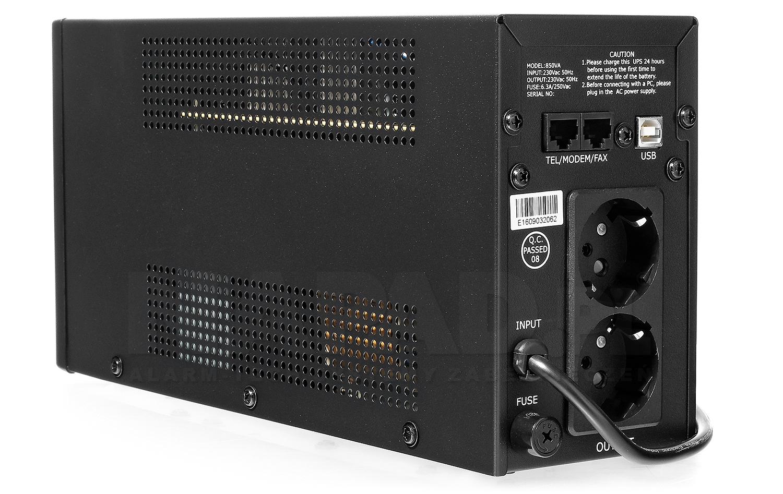 Zasilacz awaryjny UPS AT-UPS850-LED wolnostojący