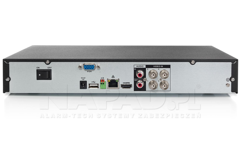 Rejestrator cyfrowy trybrydowy BCS-CVR0401-III