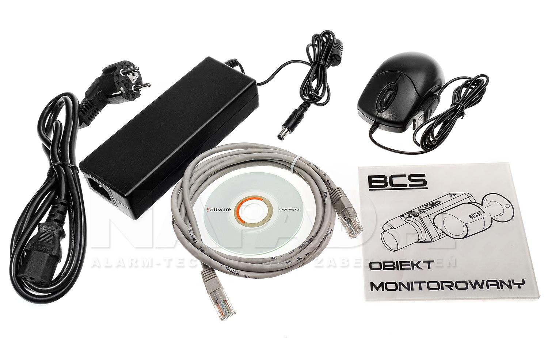 Ekonomiczny rejestrator sieciowy BCS-NVR08015ME-P