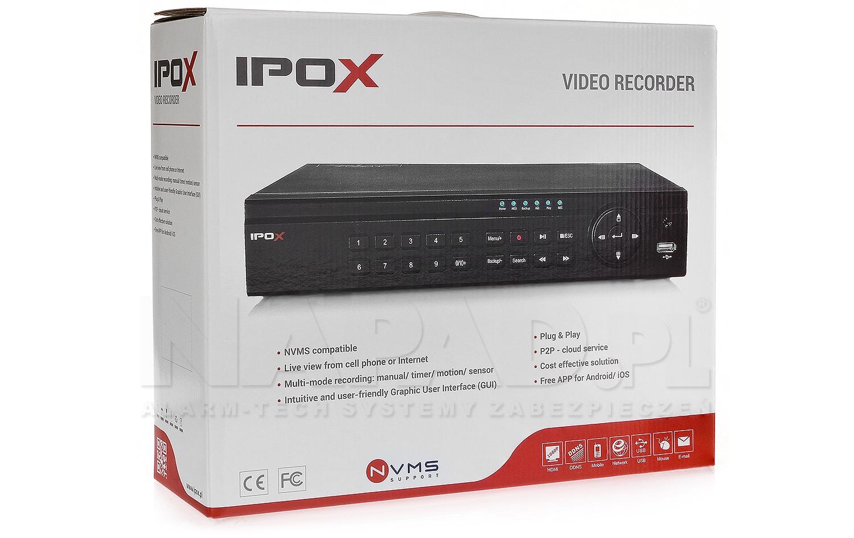 Sieciowy rejestrator PX-NVR3004EA-P4