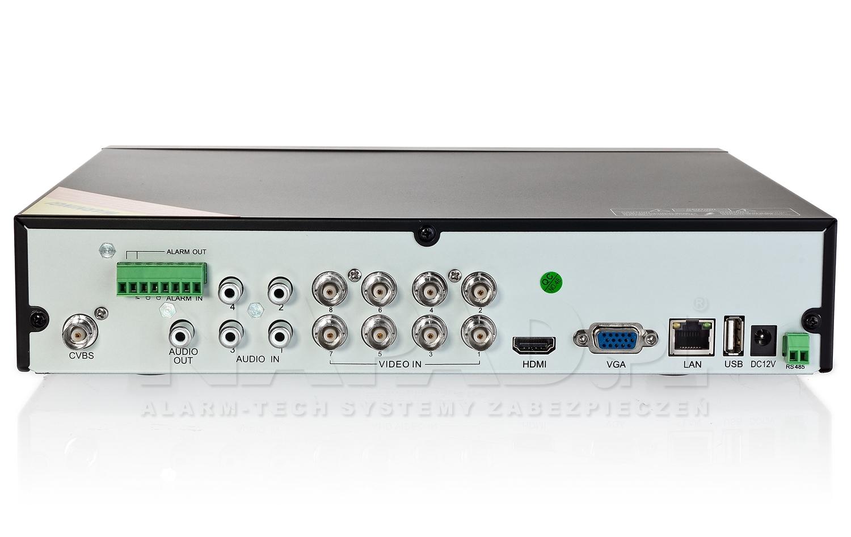 Rejestrator czterosystemowy PX-HDR0821H
