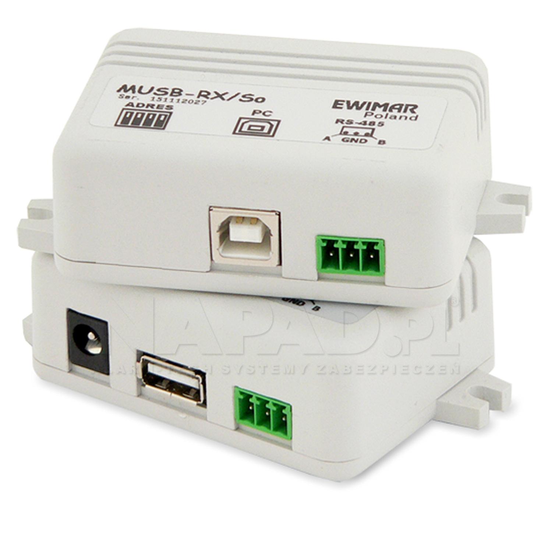 Przedłużacz myszy USB MUSB-1/1 v3.2