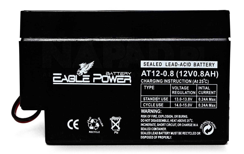 Akumulator 0.8Ah/12V