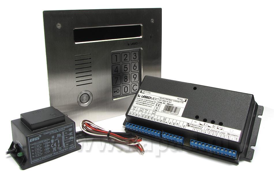 Cyfrowy system domofonowy CD2510T INOX zestaw