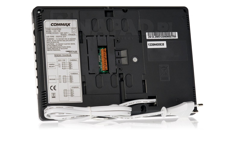 Monitor wideodomofonowy kolorowy CDV-70P COMMAX