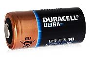 Bateria litowa CR123A DURACELL