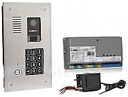 Cyfrowy system domofonowy CD3123TR INOX zestaw