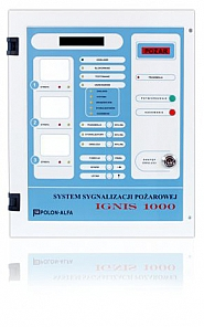 Centrala sygnalizacji pożarowej IGNIS 1030