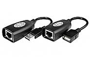 Przedłużacz USB po utp 50m