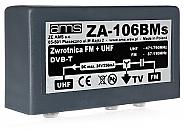 Zwrotnica antenowa ZA-106BMs FM/21-69/75 - 1