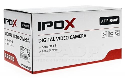 Kamera przemysłowa w atrapie czujnika ruchu IPOX PIR60E