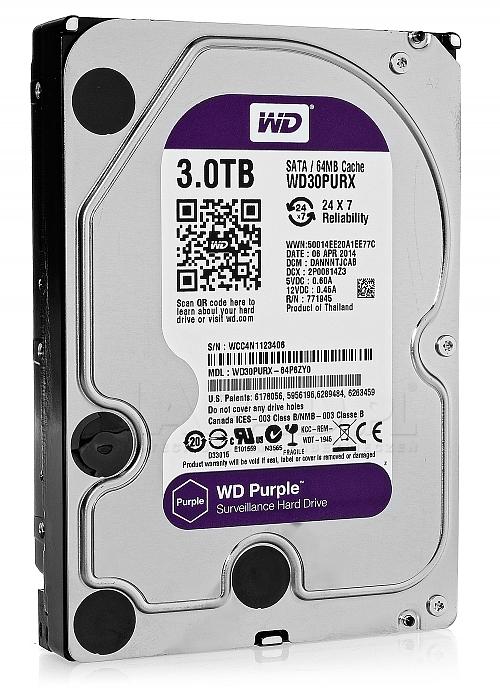 Dysk 3TB SATA III Western Digital Purple