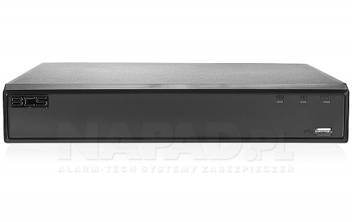 Rejestrator czterosystemowy BCS-CVR1601-IV