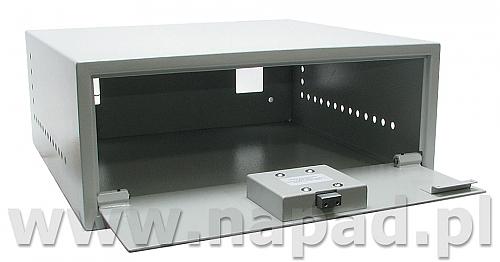 Sejf do zabezpieczania magnetowidów poklatkowych i DVR