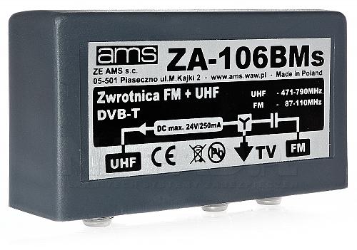 Zwrotnica antenowa ZA-106BMs FM/21-69/75