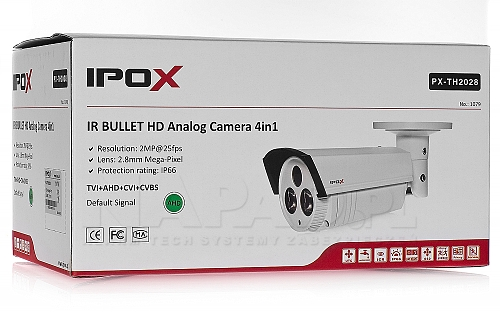 Kamera Analog HD 4 w 1 PX-TH2028