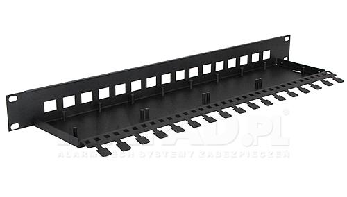 PTU/PTF-RACK Obudowa do szafy RACK 19' na 4 kanałowe moduły przepięciowe