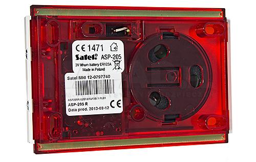 ABAX bezprzewodowy sygnalizator wewnętrzny ASP205R
