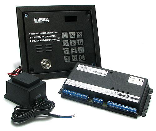 Cyfrowy system domofonowy CD2502T zestaw
