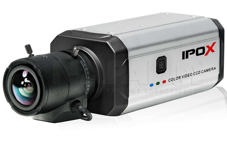 Uniwersalna kamera PX8060EA z mocowaniem obiektywów C/CS