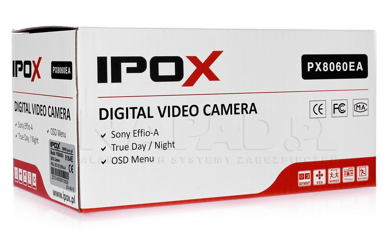 Opakowanie kamery kompaktowej IPOX PX 8060EA