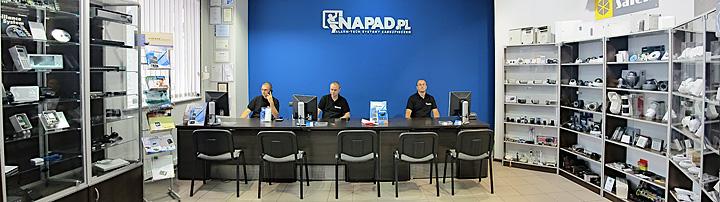 Alarm-Tech Systemy Zabezpieczeń - sklep internetowy NAPAD.PL