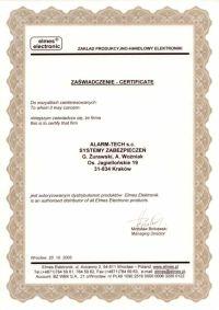 Elmes Electronic - autoryzowany dystrybutor