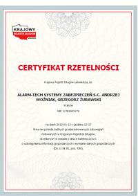 Sklep www.napad.pl w programie Rzetelna Firma