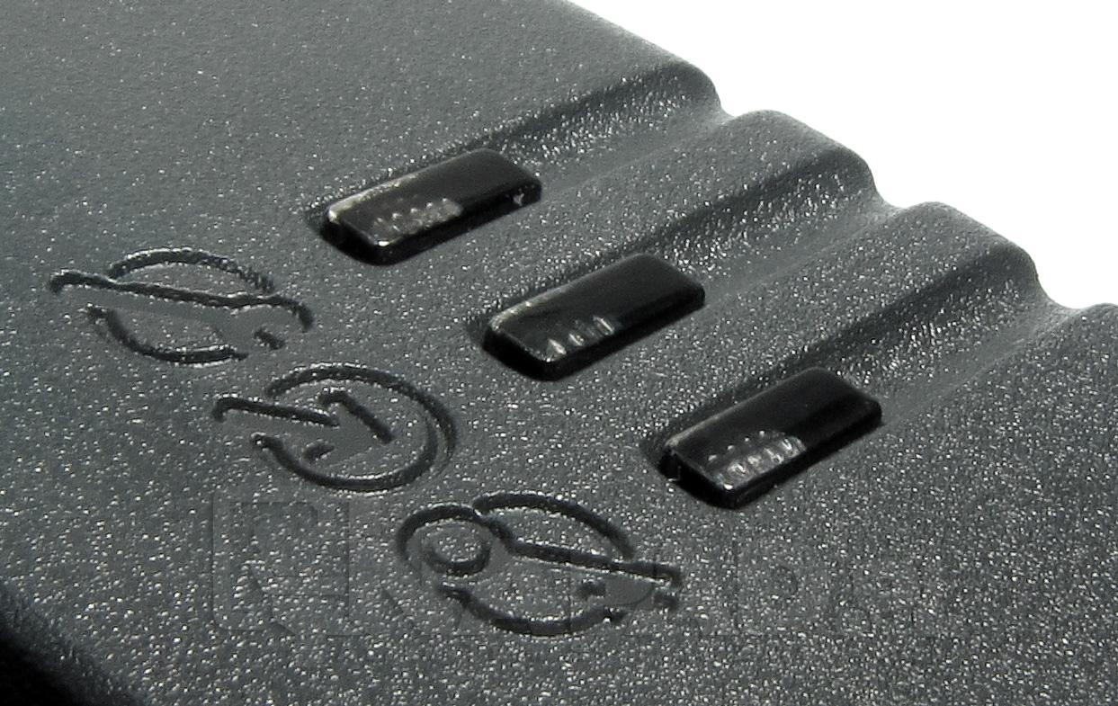 Wskaźniki LED zastosowane w kontrolerze.
