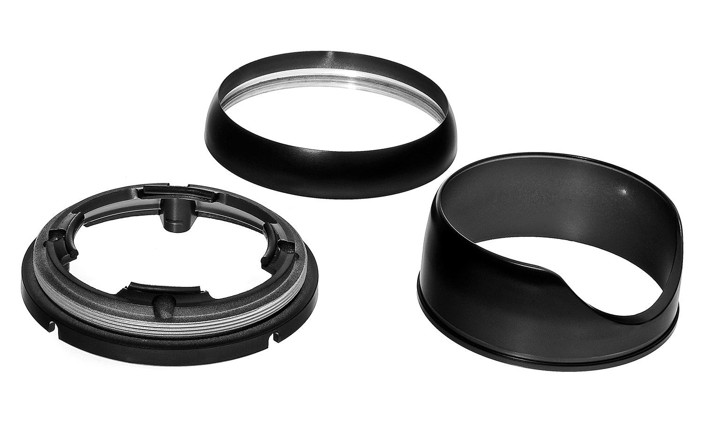 Elementy obudowy kamery kopułowej IPOX