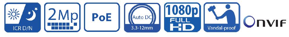 Zastosowane funkcję w kamerze megapikselowej IP BCS-DMIP4200
