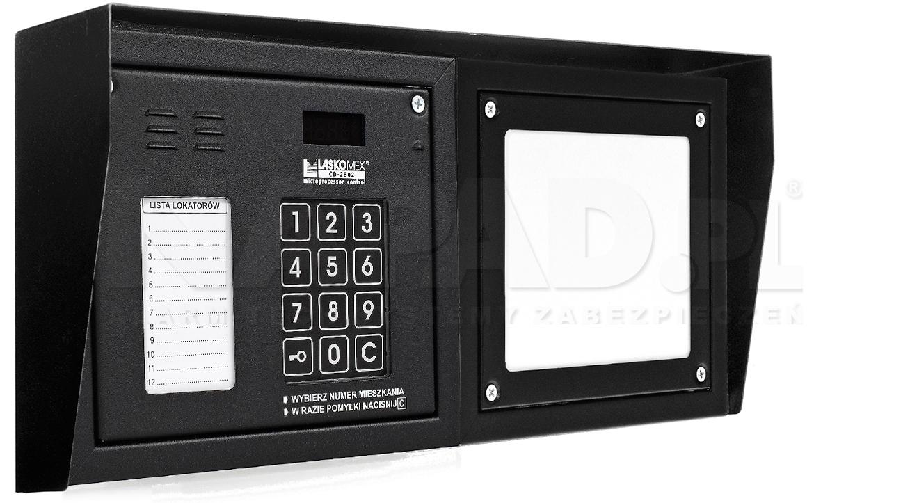 CD2502NP - Dodatkowe akcesoria panela domofonowego.