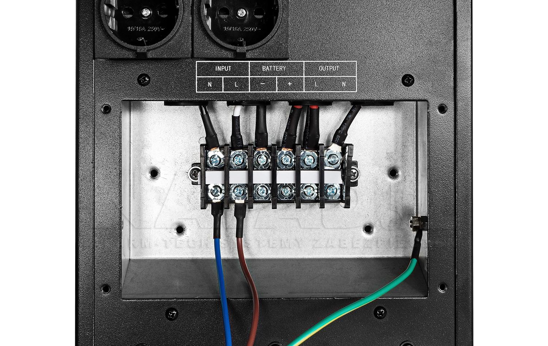 System listw zaciskowych invertera INV 800