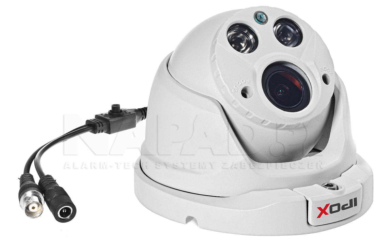 Kamera z certyfikatem wodoszczelności IP66 i odpornością mechaniczną IK06