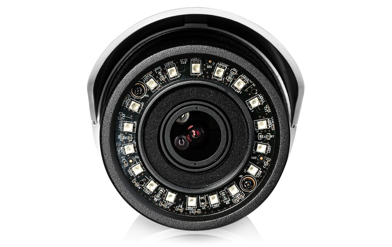 Wydajny wbudowany oświetlacz podczerwieni w kamerze BCS TIP 5200IR E.