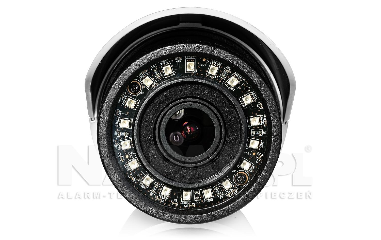Wydajny wbudowany oświetlacz podczerwieni w kamerze megapikselowej TIP 5300IR E.