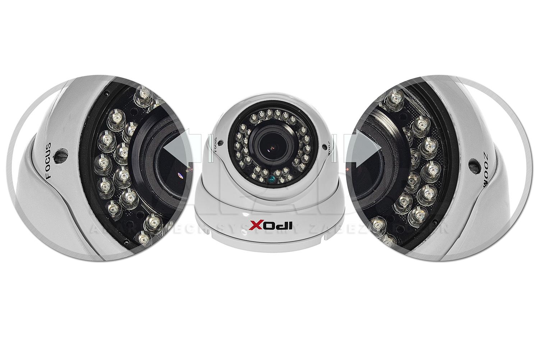 Regulacja poziomu zbliżenia i ostrości kamery.