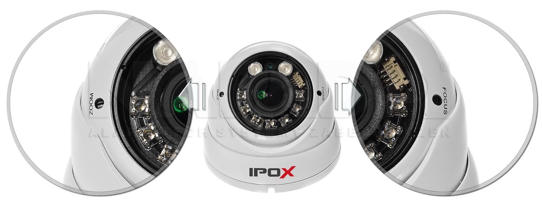 Kamera AHD z regulowanym obiektywem