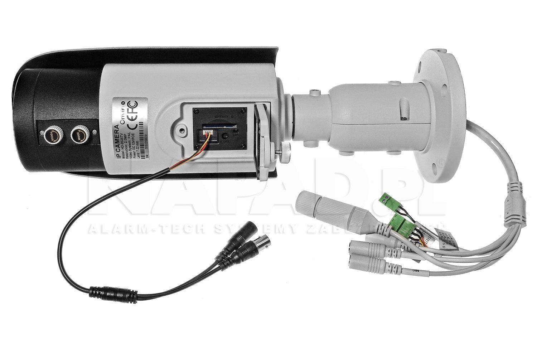 Gniazdo do podłączenia monitora serwisowego w kamerze megapikselowej HD-2025TV.