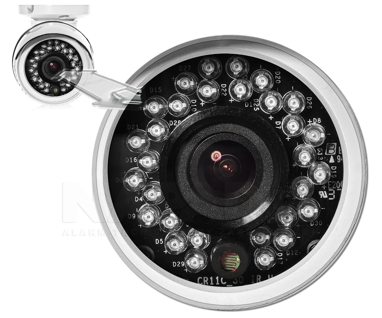 Wbudowany oświetlacz podczerwieni w kamerze megapikselowej HD-3030T.