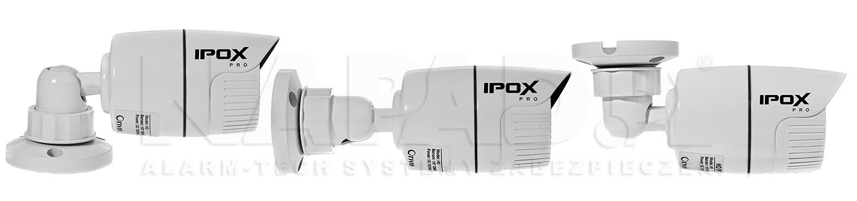 Możliwość ustawiania uchwytu kamery HD2030T.
