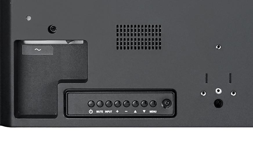 Tylni pulpit sterowniczy monitora PM32.