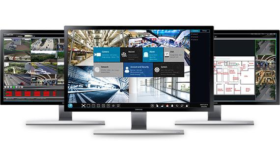 Przejrzysty interfejs oprogramowania NVMS-1000.
