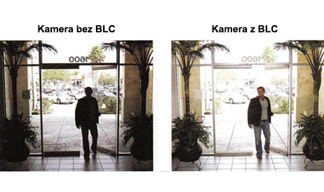 Funkcja Backlight Compensation (BLC) w DYM60E.