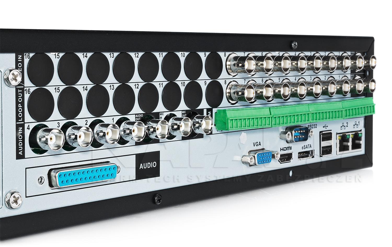 Interfejsy komunikacyjne rejestratora BCS DVR0808H960